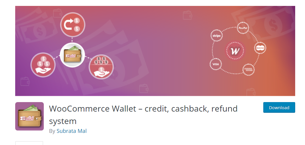 WooCommerce Wallet Credit, Cash Back, Refund System