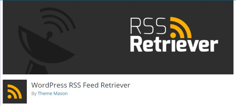 WordPress RSS Feed Retriever