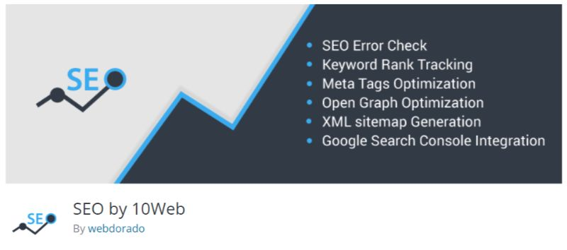 WordPress SEO plugin by 10Web