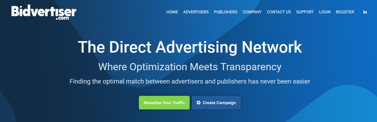 Bidvertiser ppc ads network