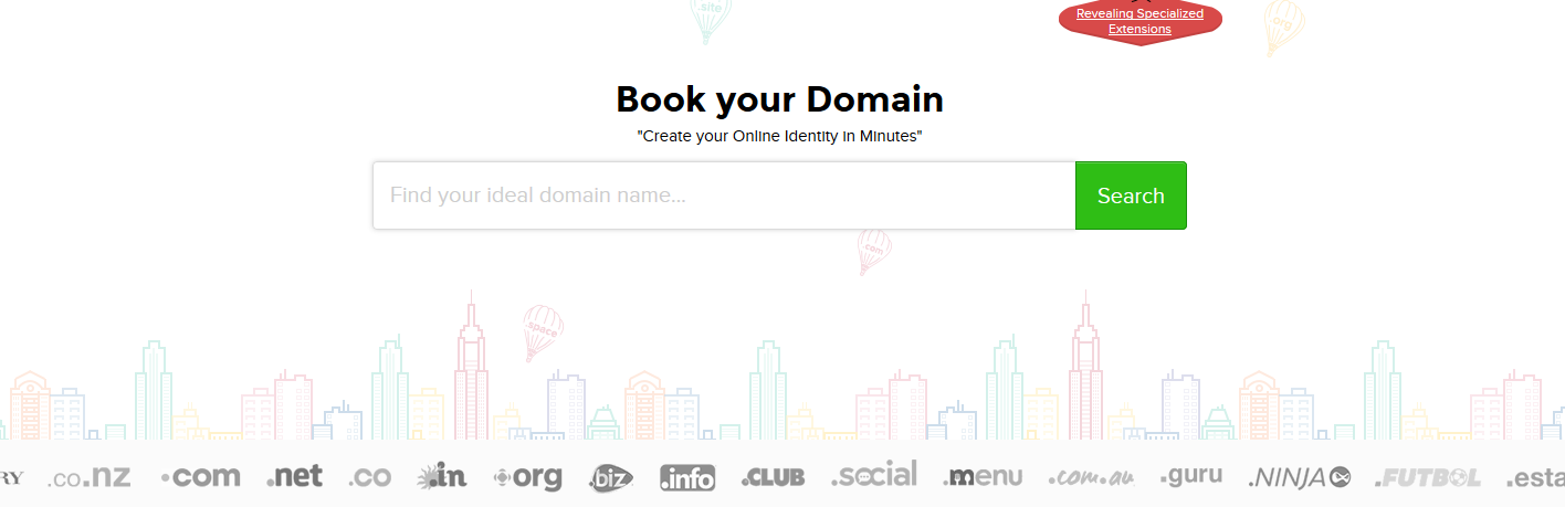 choose a identifiable domain