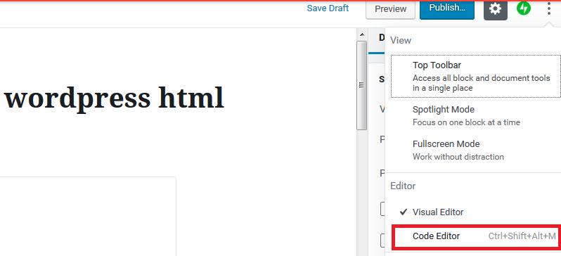 click code editor