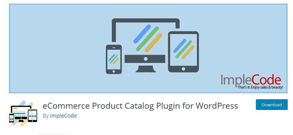 eCommerce Product Catalog Plugin For WordPress
