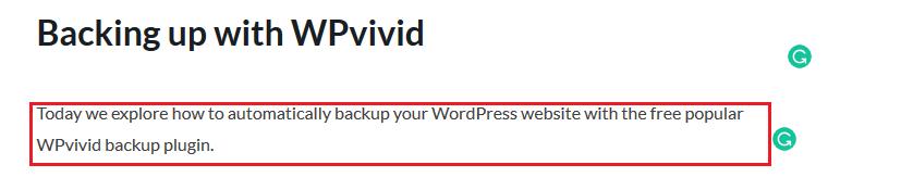 Gutenberg editor access block tools