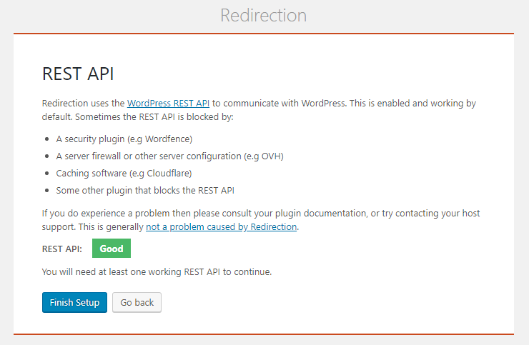 Redirection plugin rest api setup.png