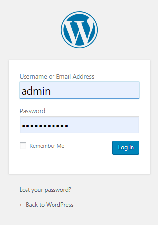 Test the 2 factor authentication in wordpress