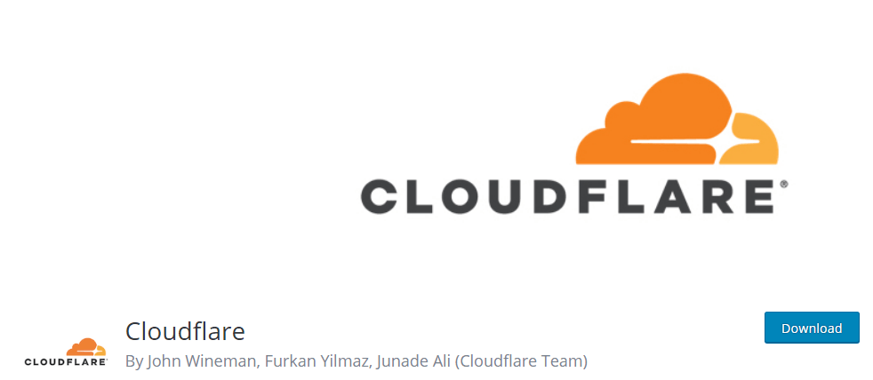 The official CloudFlare plugin