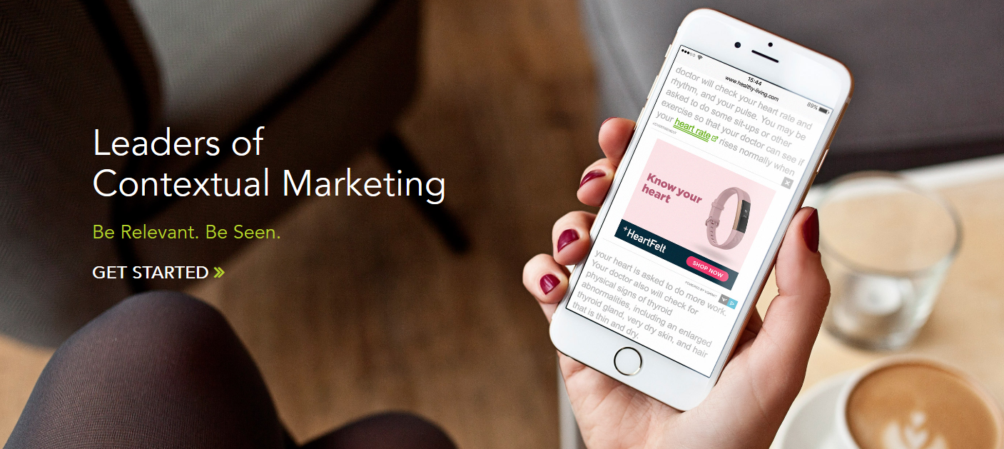 vibrant media contextual ads platform