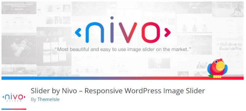 WordPress slider plugin by Nivo