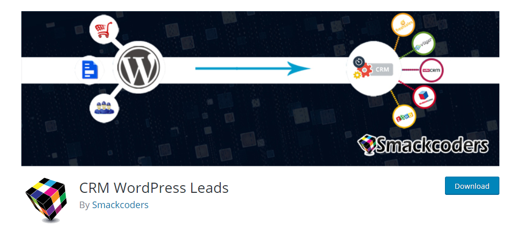CRM WordPress Leads plugin