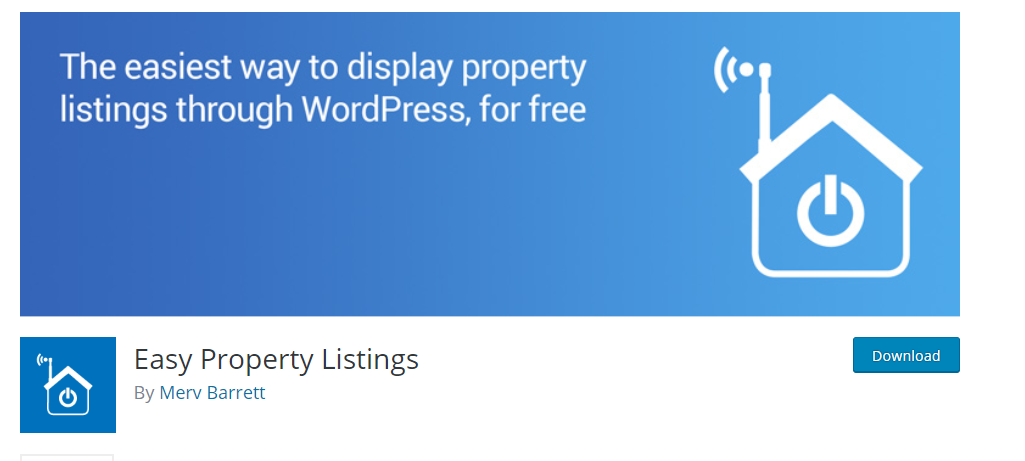 Easy Property Listing plugin
