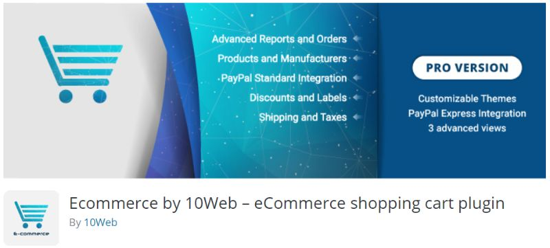 Ecommerce by 10Web