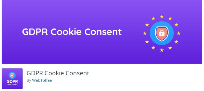 GDPR Cookie Consent WordPres GDPR plugin