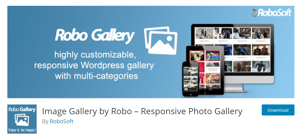 Image Galley By Robo Responsive Photo Gallery plugin