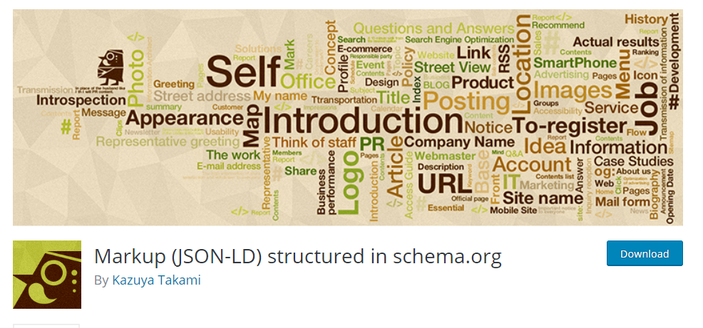 Markup (JSON-LD) Structured in Schema plugin
