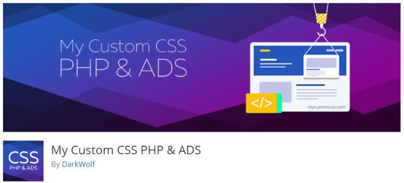 My Custom CSS PHP ADS