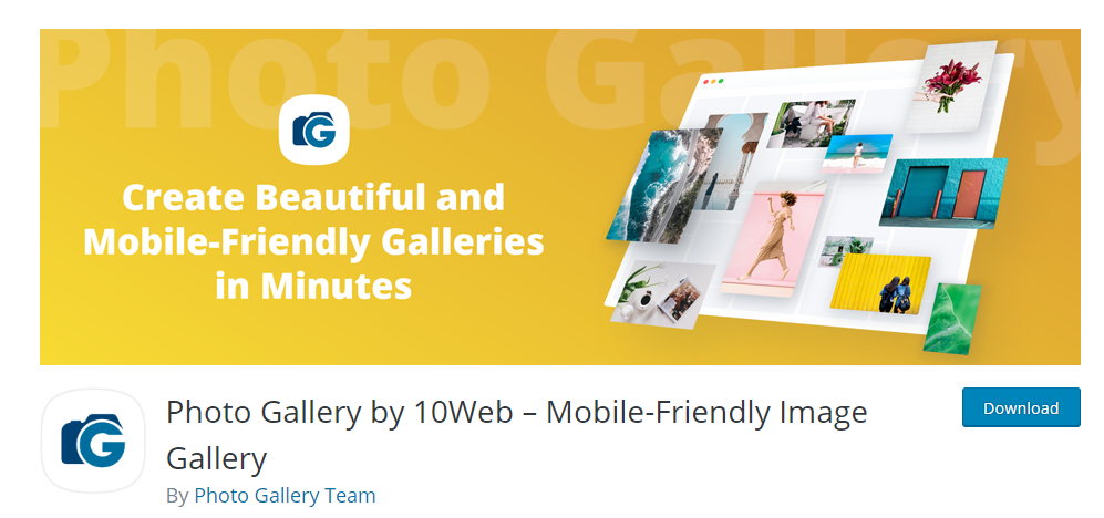 Photo Gallery By 10 Web Mobile Friendly Image Gallery plugin