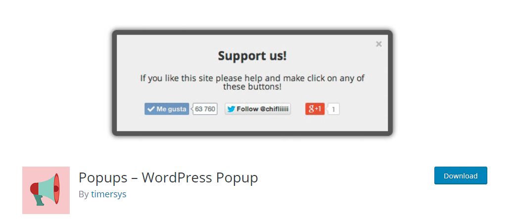 Popups WordPress Popup plugin