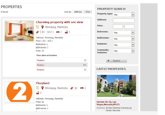 Property Listing Type