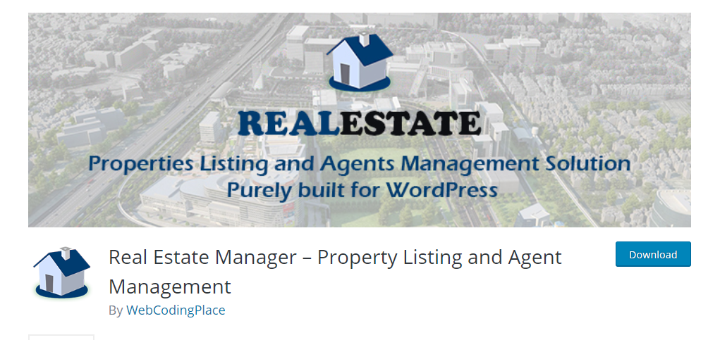 Real Estate Manager plugin