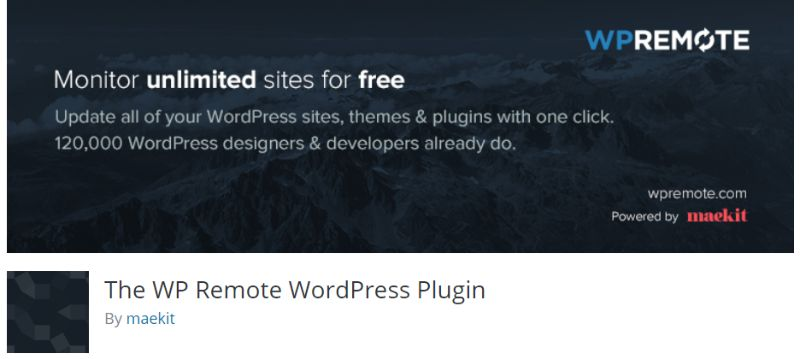 The WP Remote WordPress Multisite Management Plugin