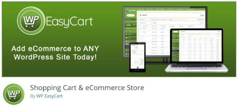 WP EasyCart plugin