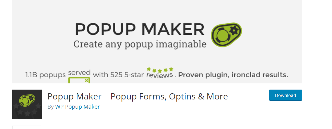 WP Popup Maker plugin