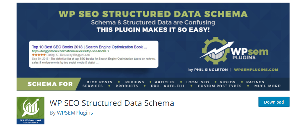 WP SEO Structured Data Schema plugin