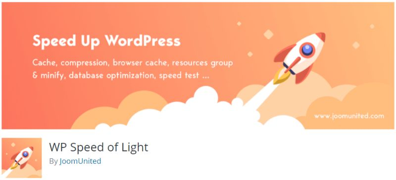 WP Speed Of Light plugin