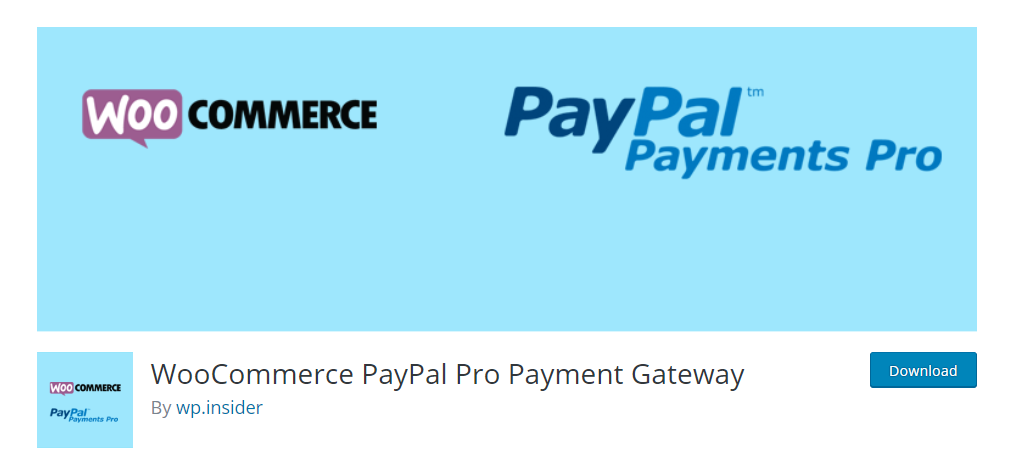 WooCommerce PayPal Pro Payment Gateway