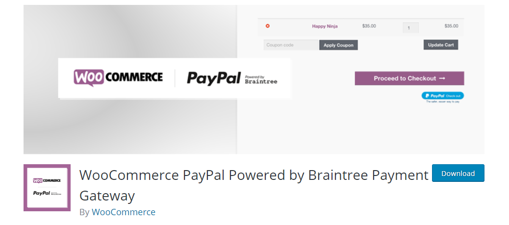 WooCommerce PayPal plugin