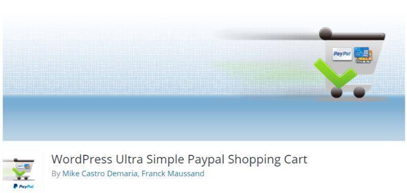 WordPress Ultra Simple PayPal Shopping Cart