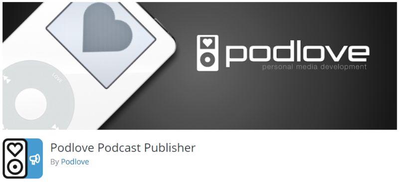 WordPress podcast plugin Podlove