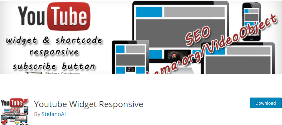 Youtube Widget Responsive