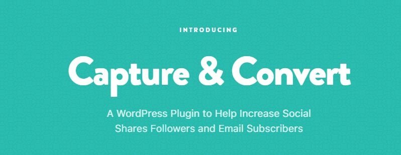 Capture Convert WordPress CRM plugin