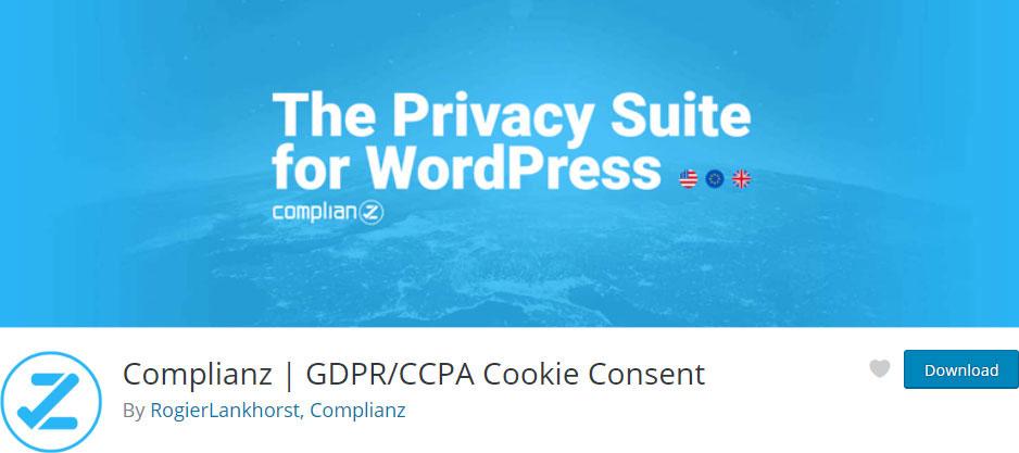 Complianz Free WordPress GDPR Plugin