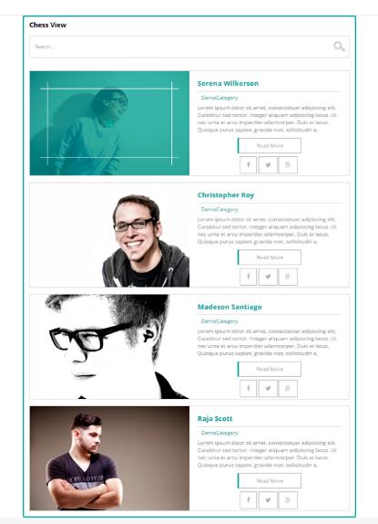 design of Team WD wordpress plugin