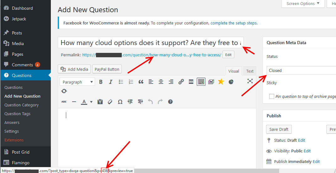 Add questions 3