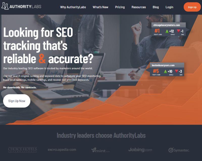 Authority Labs SEO Tool