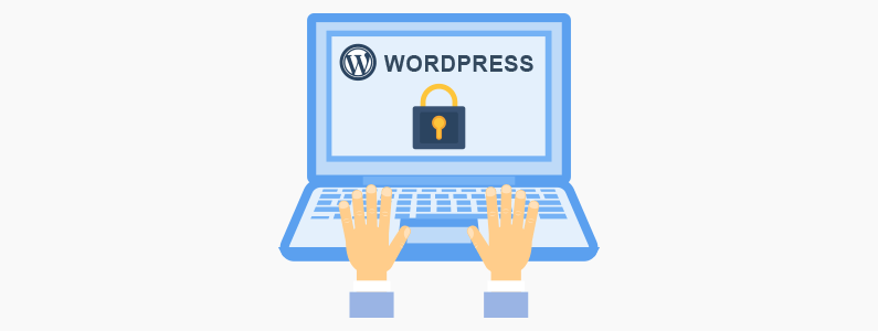 Set strong WordPress admin password