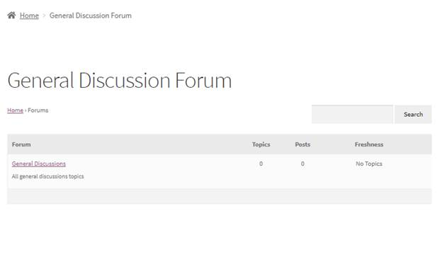 visit forum in the page