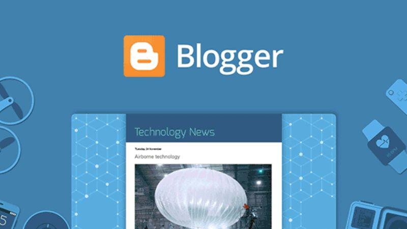 Blogger Free Blogging Platform