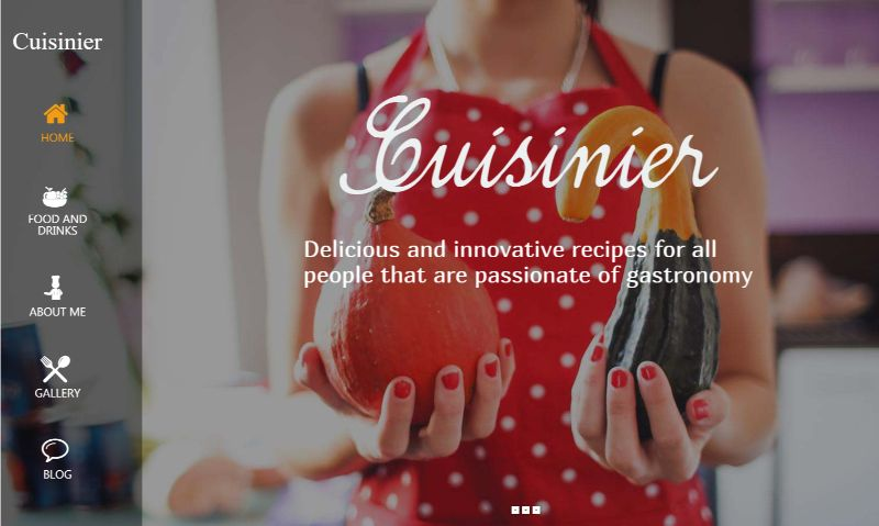 Cuisinier WordPress food theme
