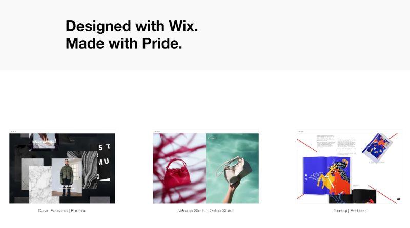 Wix Free Blogging Platform
