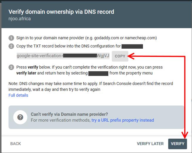 Domain Property Type