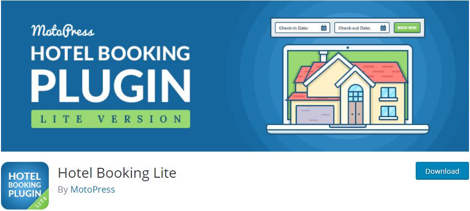 Hotel Booking Lite WordPress plugin