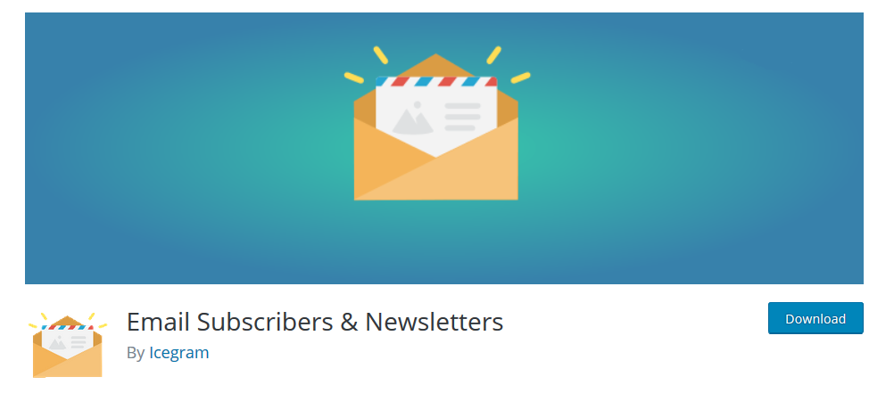 Email Subscribers and Newsletter plugin for WordPress
