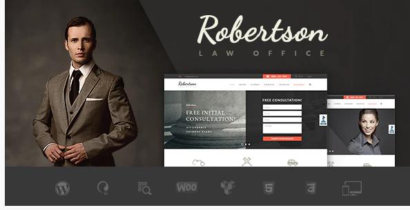 Law Office lawyer WordPress theme