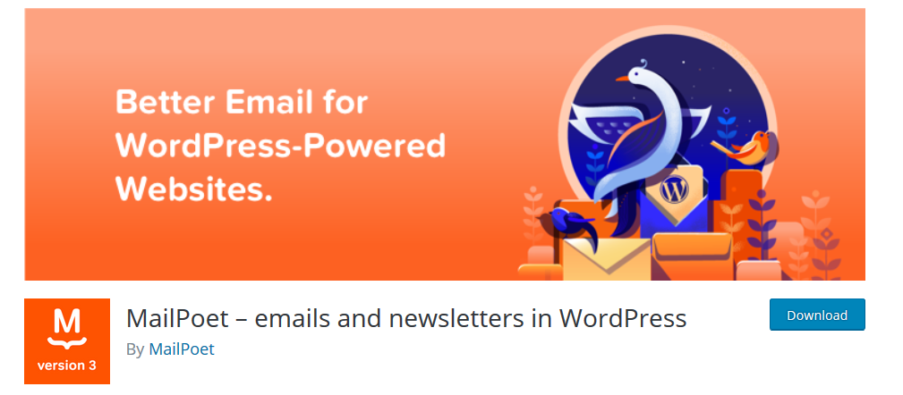 MailPoet Newsletters WordPress plugin
