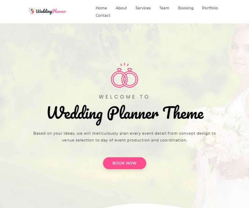 Premium Wedding WordPress Theme